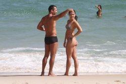 Kyra Gracie beach 01.jpg